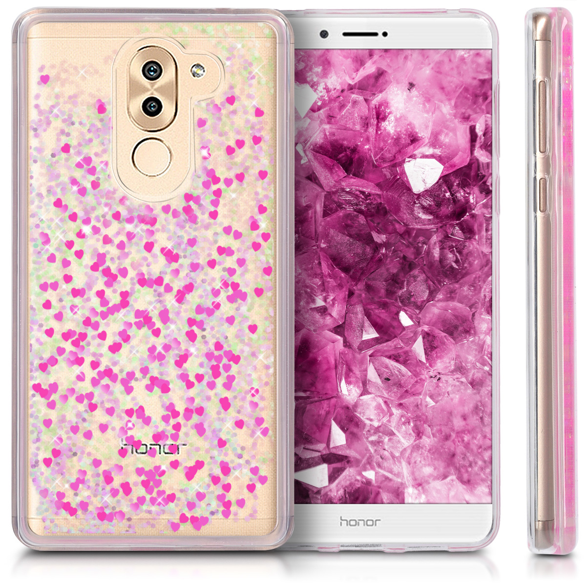 tui rigide coque eau pour huawei honor 6x gr5 2017 mate 9 lite boule de neige ebay. Black Bedroom Furniture Sets. Home Design Ideas