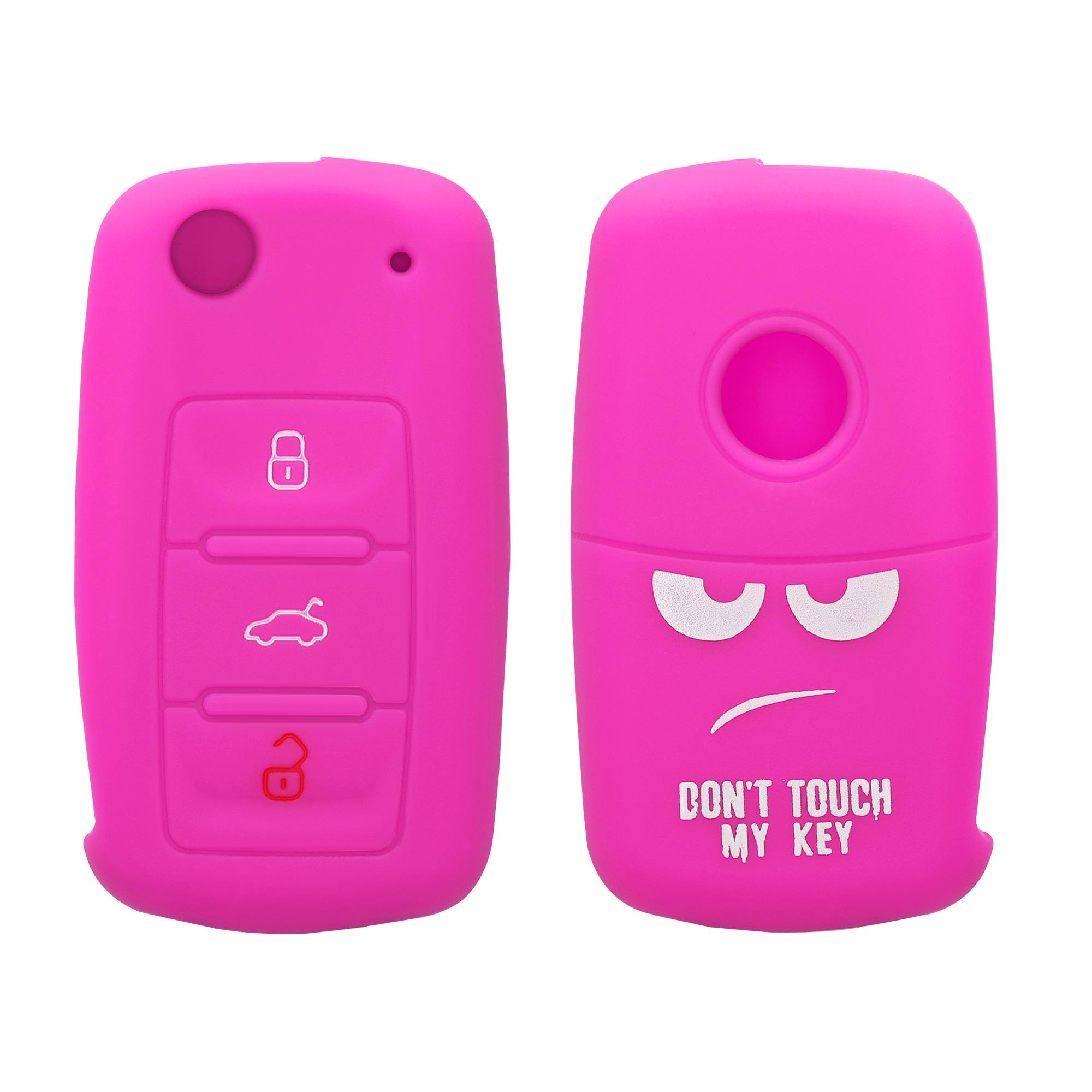 Hülle für VW Skoda Seat Autoschlüssel Silikon Schlüssel Schutzhülle