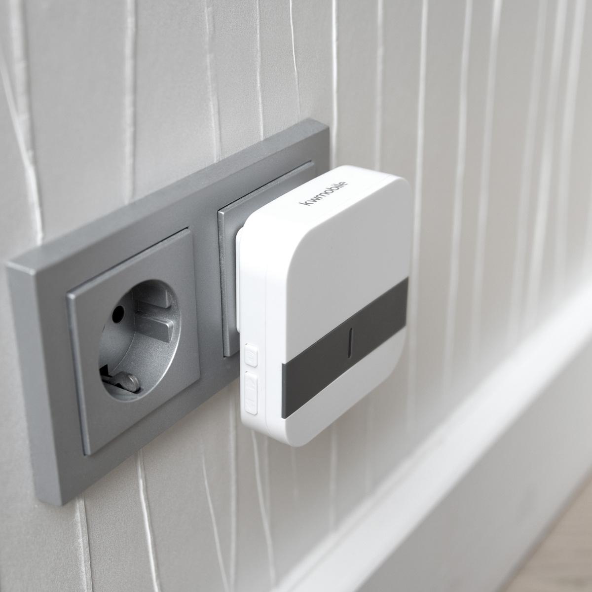 klingel kabellos t rklingel funkklingel mit 1x sender 2x. Black Bedroom Furniture Sets. Home Design Ideas