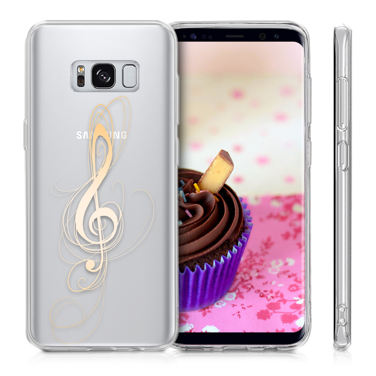 handyh lle f r samsung galaxy s8 h lle handy case cover silikon schutzh lle ebay. Black Bedroom Furniture Sets. Home Design Ideas
