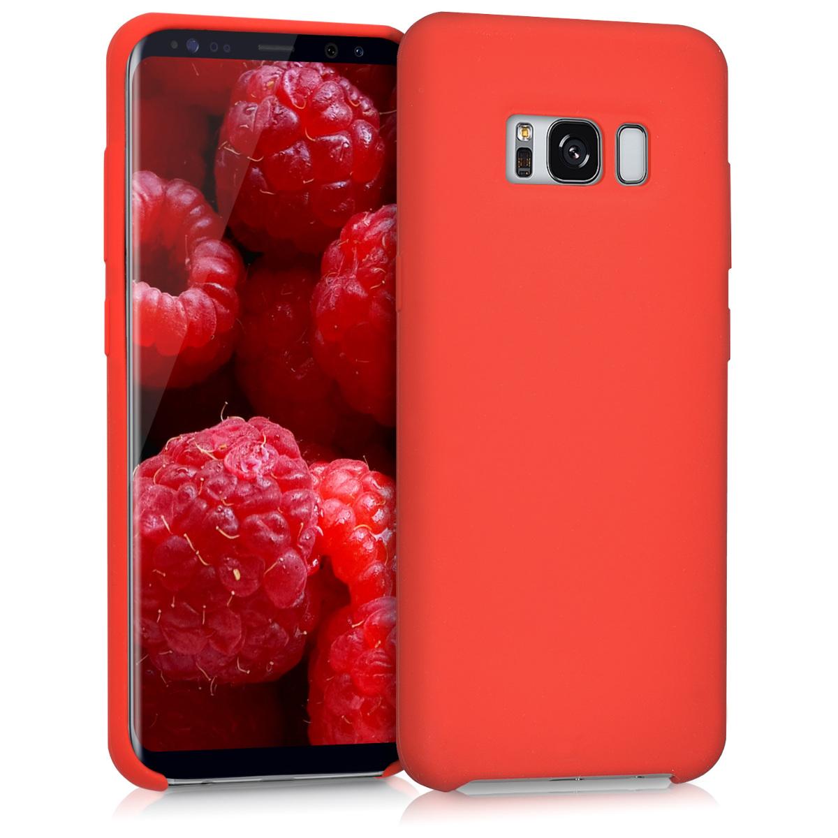 Kvalitní silikonové TPU pouzdro pro Samsung S8 - červené