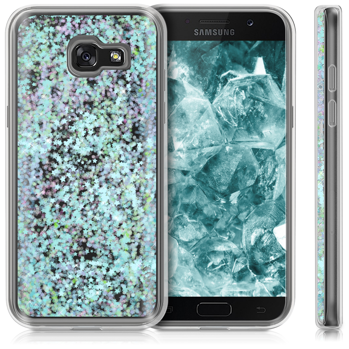 hard case cover water for samsung galaxy a5 2017 mobile phone liquid bumper ebay. Black Bedroom Furniture Sets. Home Design Ideas