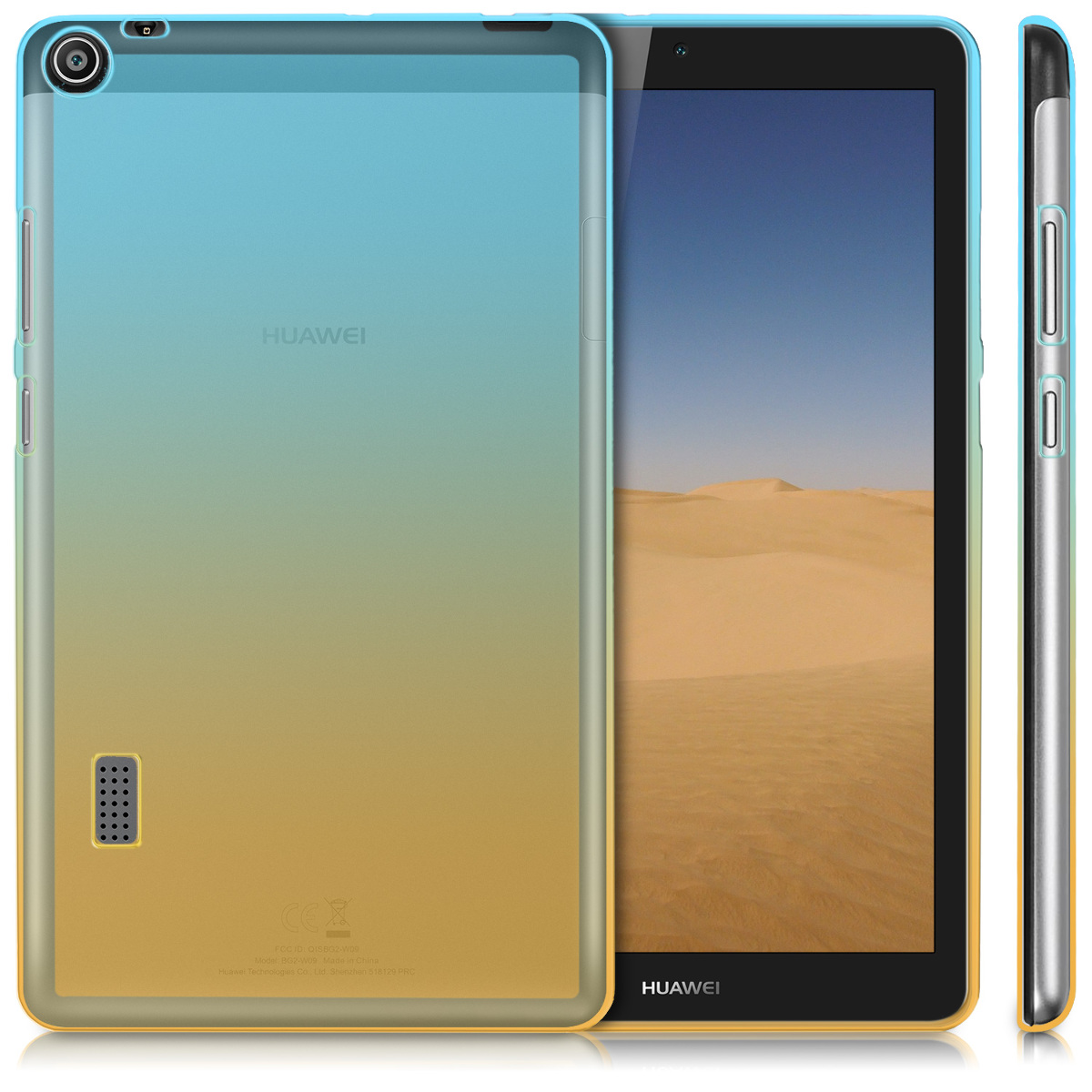 8fe4005cfa6 kwmobile TPU Silicone Case for Huawei MediaPad T3 7.0 - Soft Flexible Shock  Absorbent Protective Cover - Blue / Yellow / Transparent. ‹ › ‹ › ‹ › ‹ ›