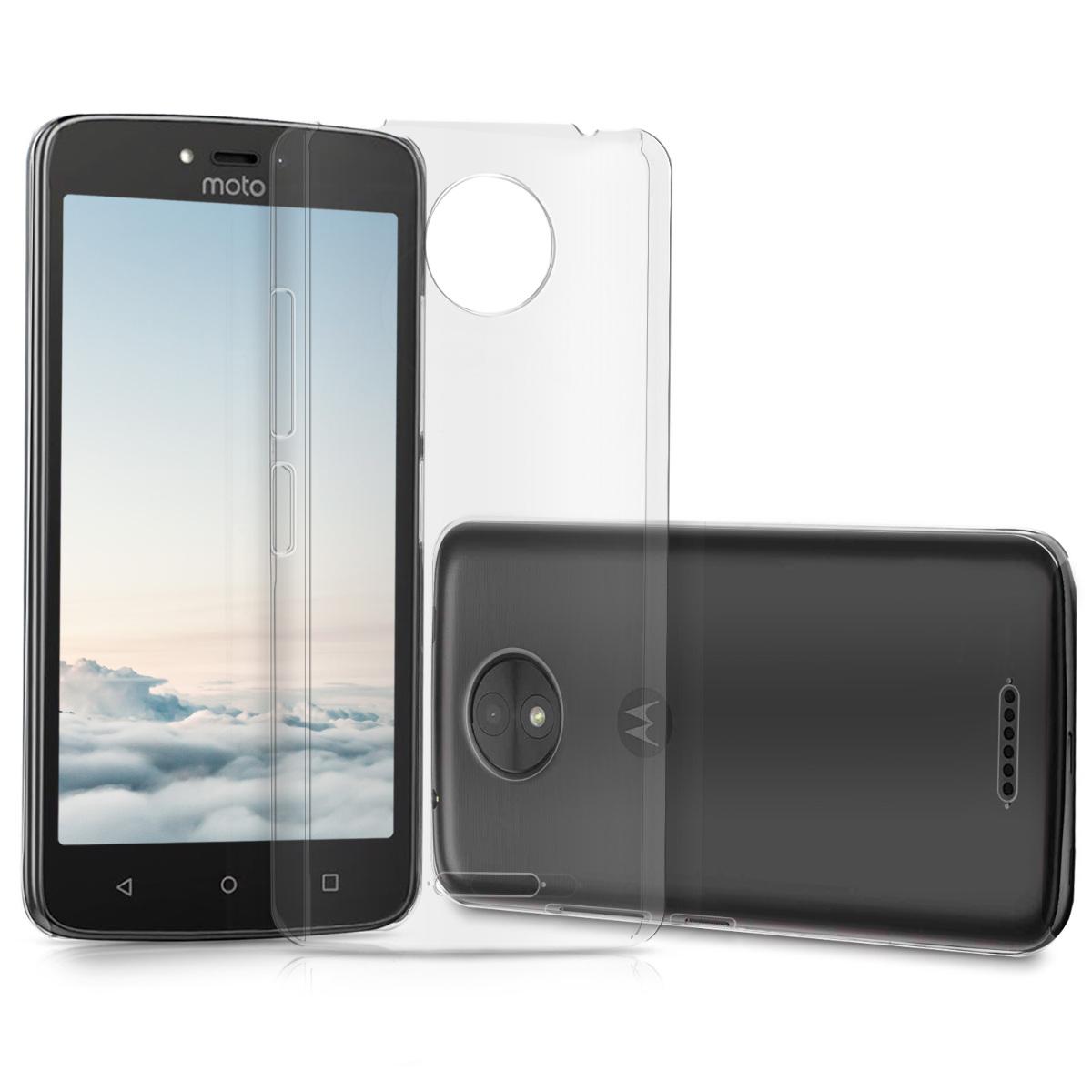3x folie na display | screenprotector pouzdro | obal pro Motorola Moto C Plus - Transparentní