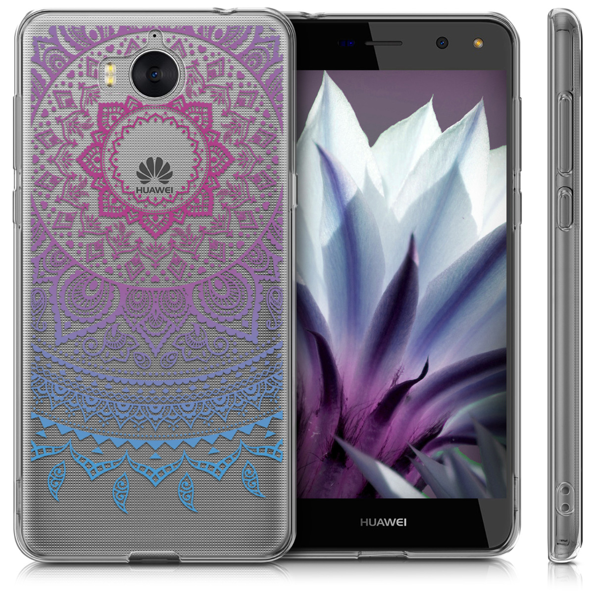 coque pour huawei y6 2017 housse housse silicone protection transparente ebay. Black Bedroom Furniture Sets. Home Design Ideas