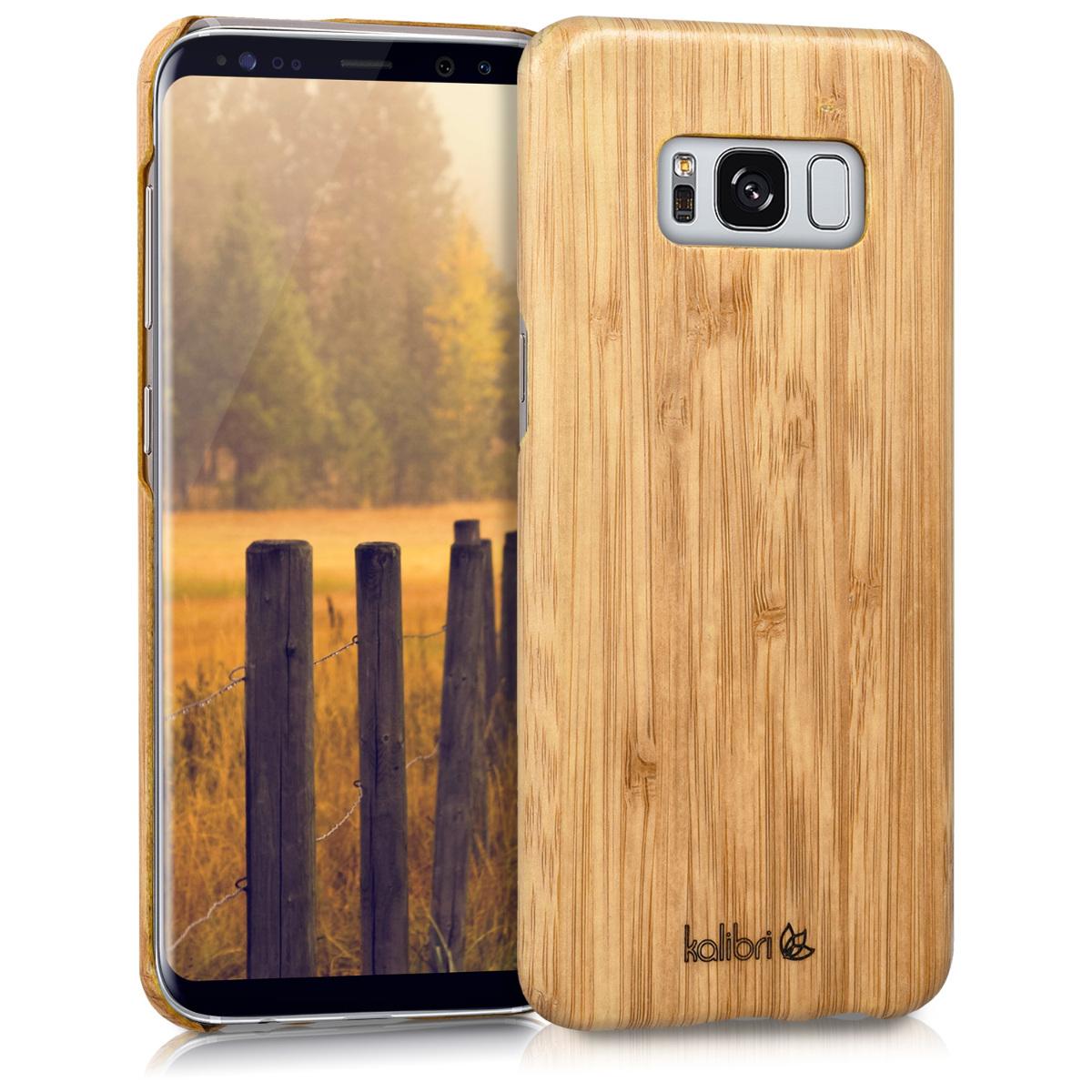 Dřevěné pouzdro / obal pro Samsung Galaxy S8