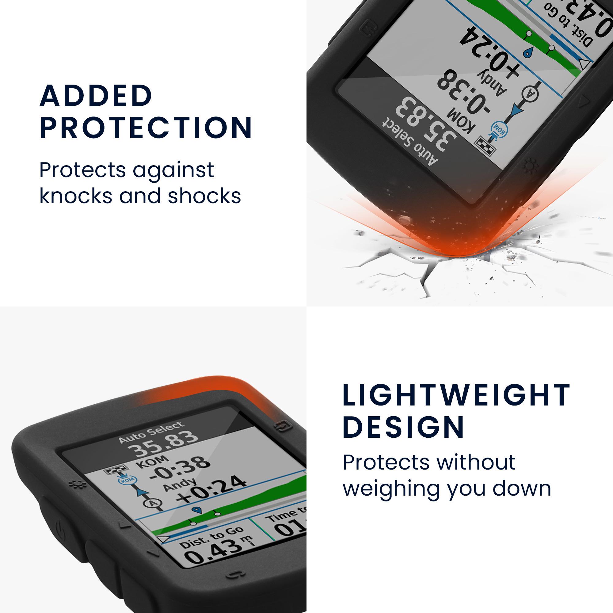 kwmobile case for garmin edge 520 bike navi case. Black Bedroom Furniture Sets. Home Design Ideas