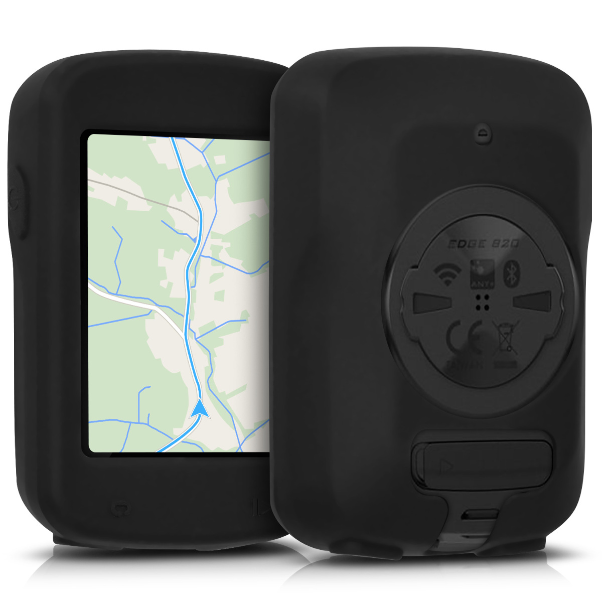 Silicone Case Cover Screen Protector For Garmin Edge Explore 820 GPS Bike UE