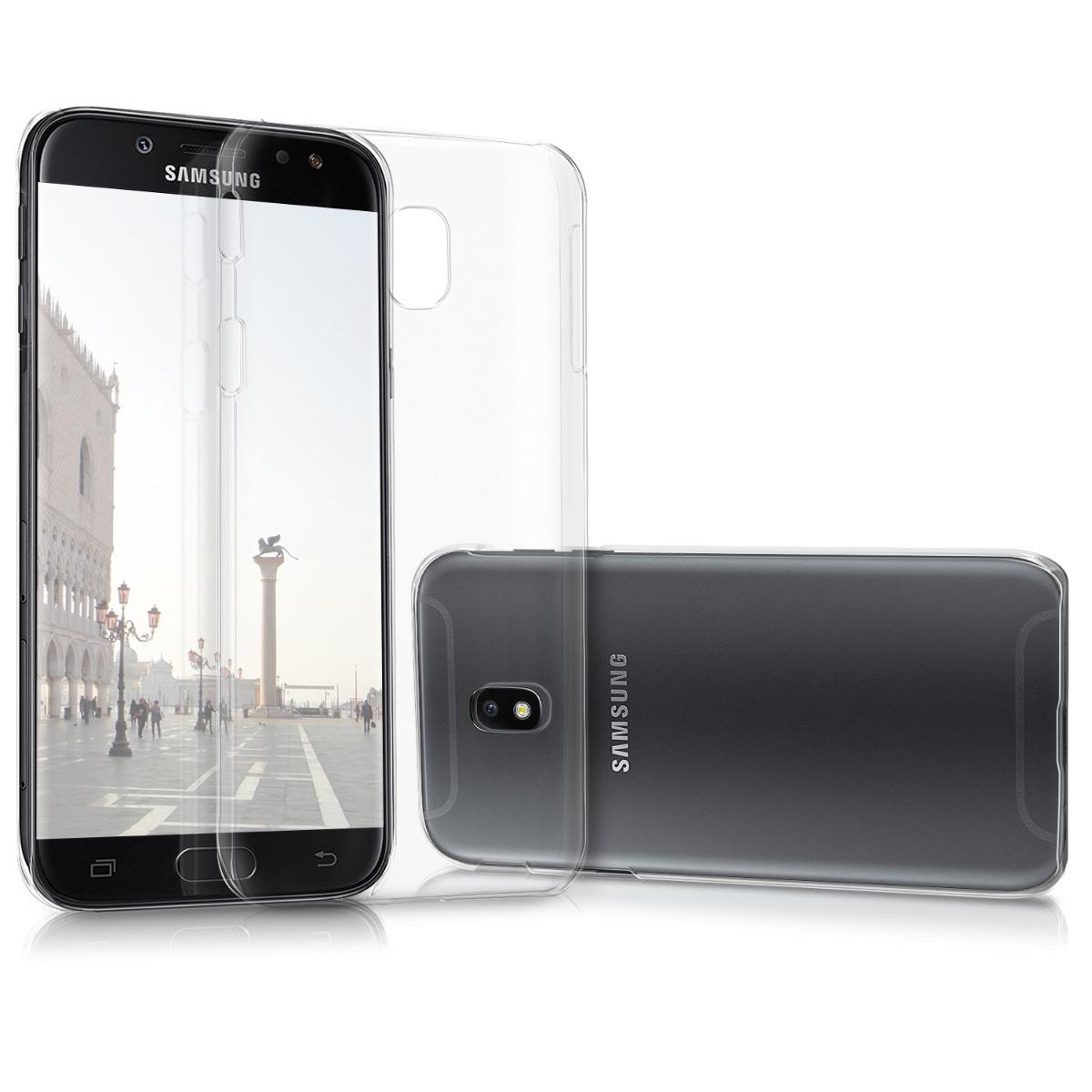 Kvalitní plastové pouzdro pro Samsung J5 (2017) DUOS - průhledné