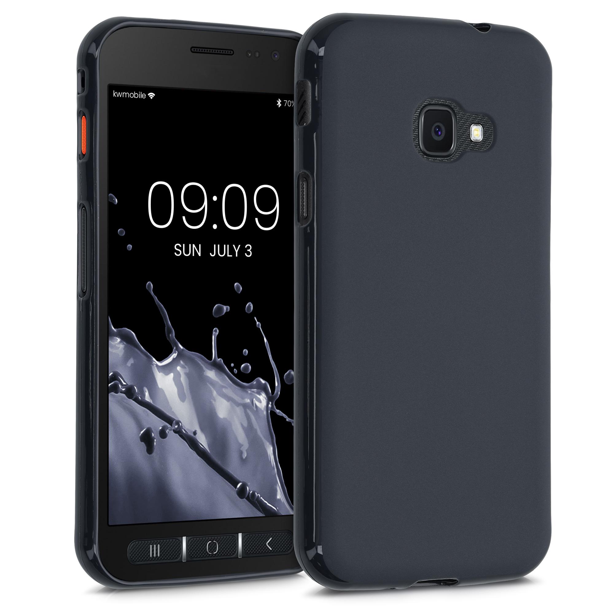 Kvalitní silikonové TPU pouzdro pro Samsung Xcover 4 | 4S - Borůvka