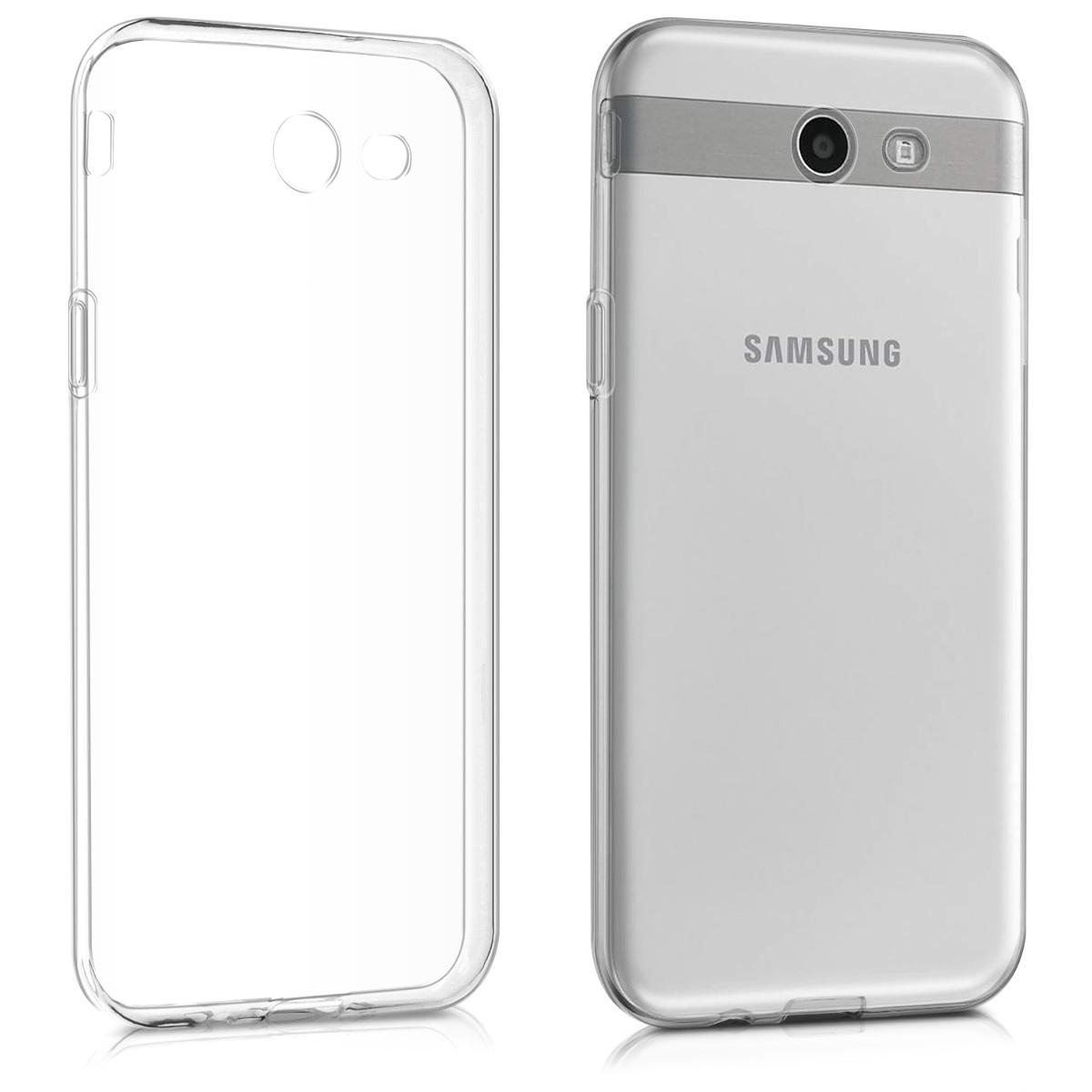 Kvalitní silikonové TPU pouzdro pro Samsung J3 2017 (USA) - průhledné
