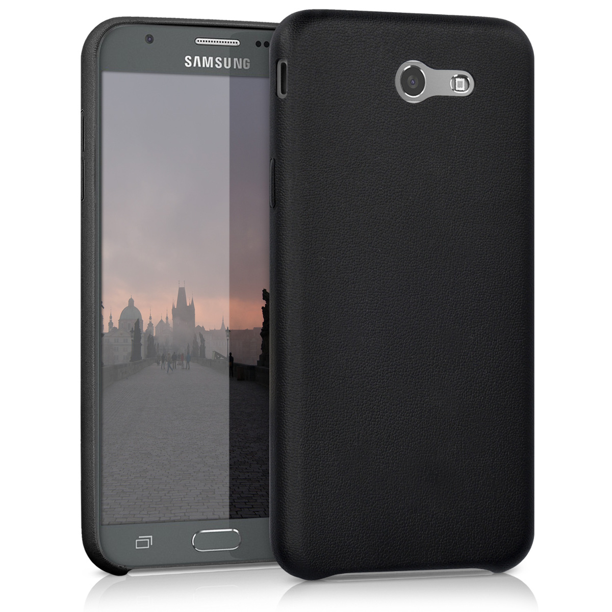 Kvalitní plastové pouzdro pro Samsung J7 2017 (USA) - černé