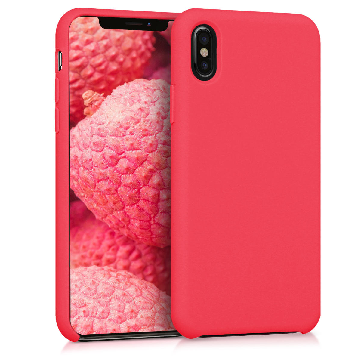 Kvalitní silikonové TPU pouzdro pro Apple iPhone X - Red Matte