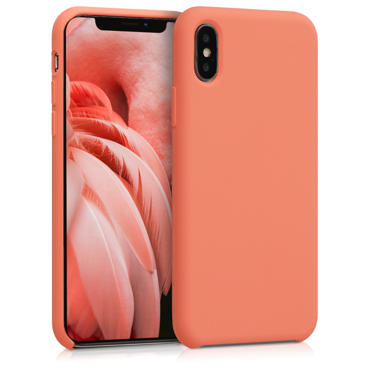 Kvalitní silikonové TPU pouzdro pro Apple iPhone X - Papája
