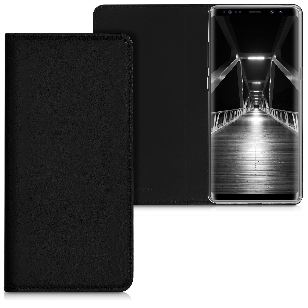Kvalitní plastové pouzdro pro Samsung Note 8 DUOS - černé