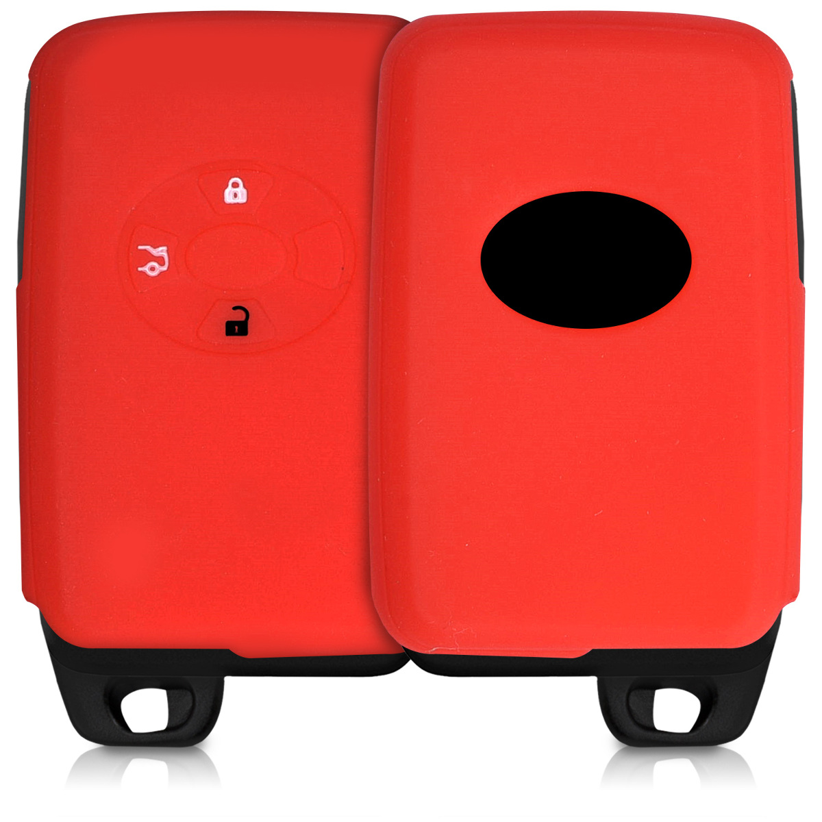 silikon h lle f r toyota 4 tasten funk autoschl ssel. Black Bedroom Furniture Sets. Home Design Ideas