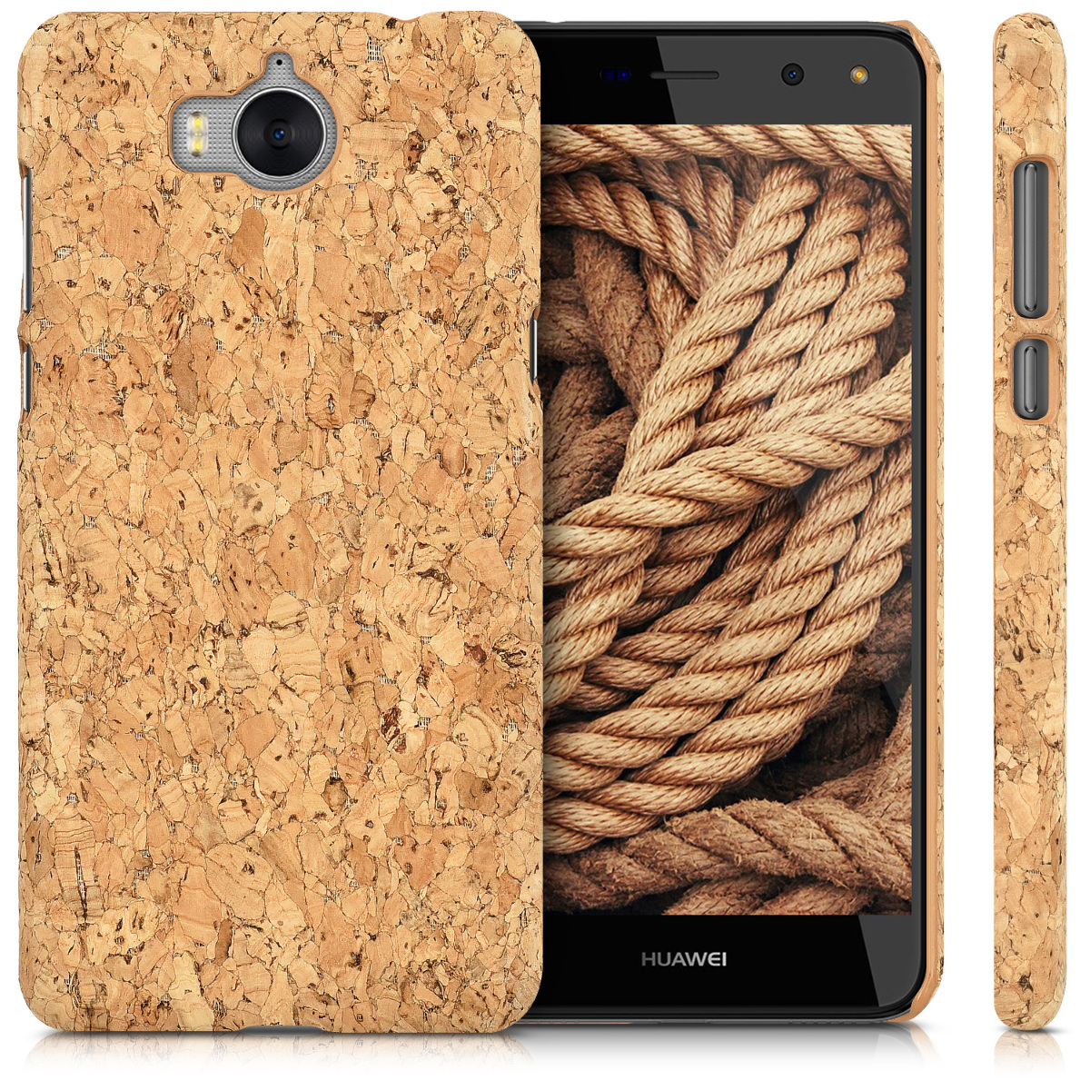 kwmobile-COQUE-DURE-AVEC-LIEGE-POUR-HUAWEI-Y6-2017-COVER-HOUSSE-PROTECTION
