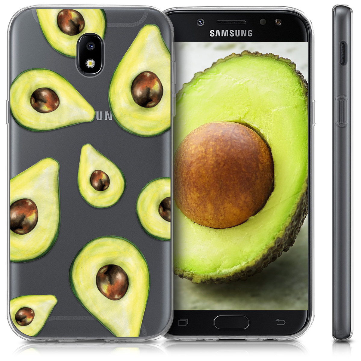 kwmobile-HOUSSE-DE-PROTECTION-POUR-SAMSUNG-GALAXY-J7-2017-DUOS-TPU-SILICONE