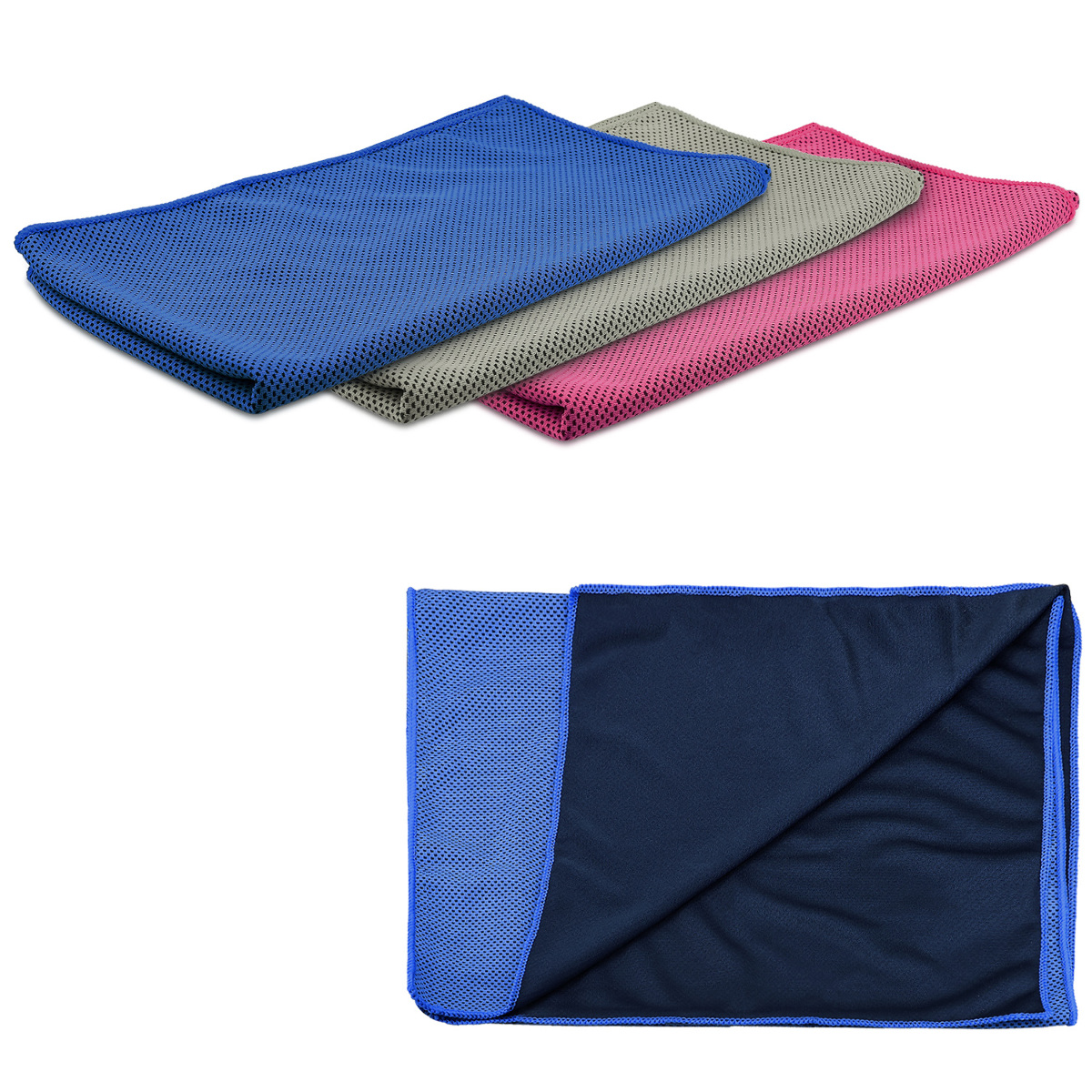 Sports Gym Towel: Cooling Fitness Towel Made Of Microfibre Sport Cloth