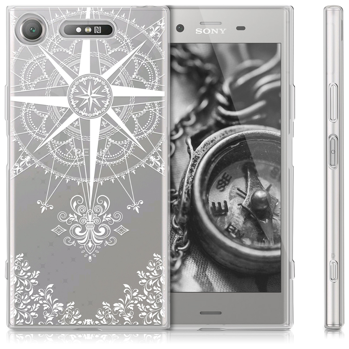 HULLE-FUR-SONY-XPERIA-XZ1-COVER-CASE-HANDY-SCHUTZHULLE-TPU