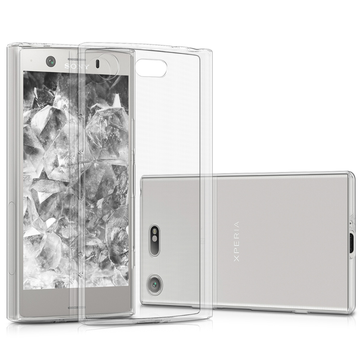 Kvalitní silikonové TPU pouzdro | obal pro Sony Xperia XZ1 Compact - průhledný