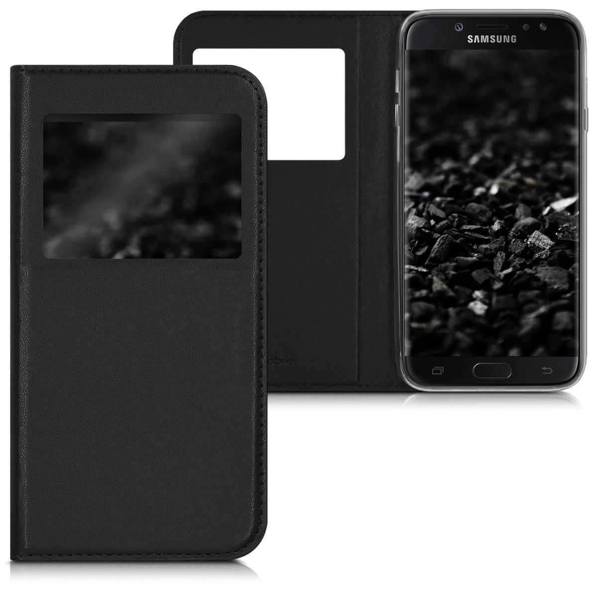 Kvalitní plastové pouzdro pro Samsung J7 (2017) DUOS - černé