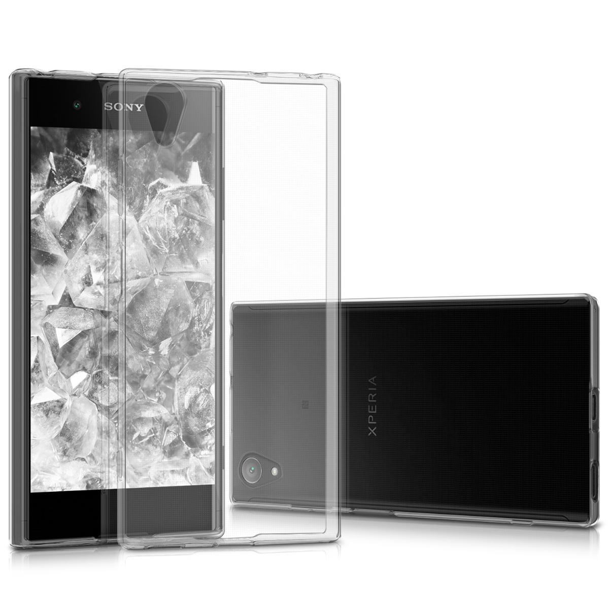 Kvalitní silikonové TPU pouzdro | obal pro Sony Xperia XA1 Plus - průhledný