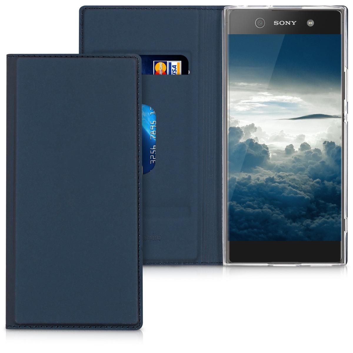Kvalitní plastové pouzdro | obal pro Sony Xperia XA1 - tmavě modré