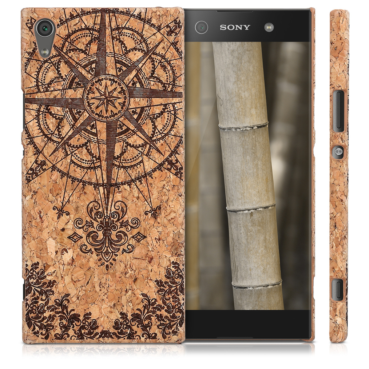 kwmobile-HARD-CASE-WITH-CORK-FOR-SONY-XPERIA-XA1-ULTRA-COVER-PROTECTION-CASE