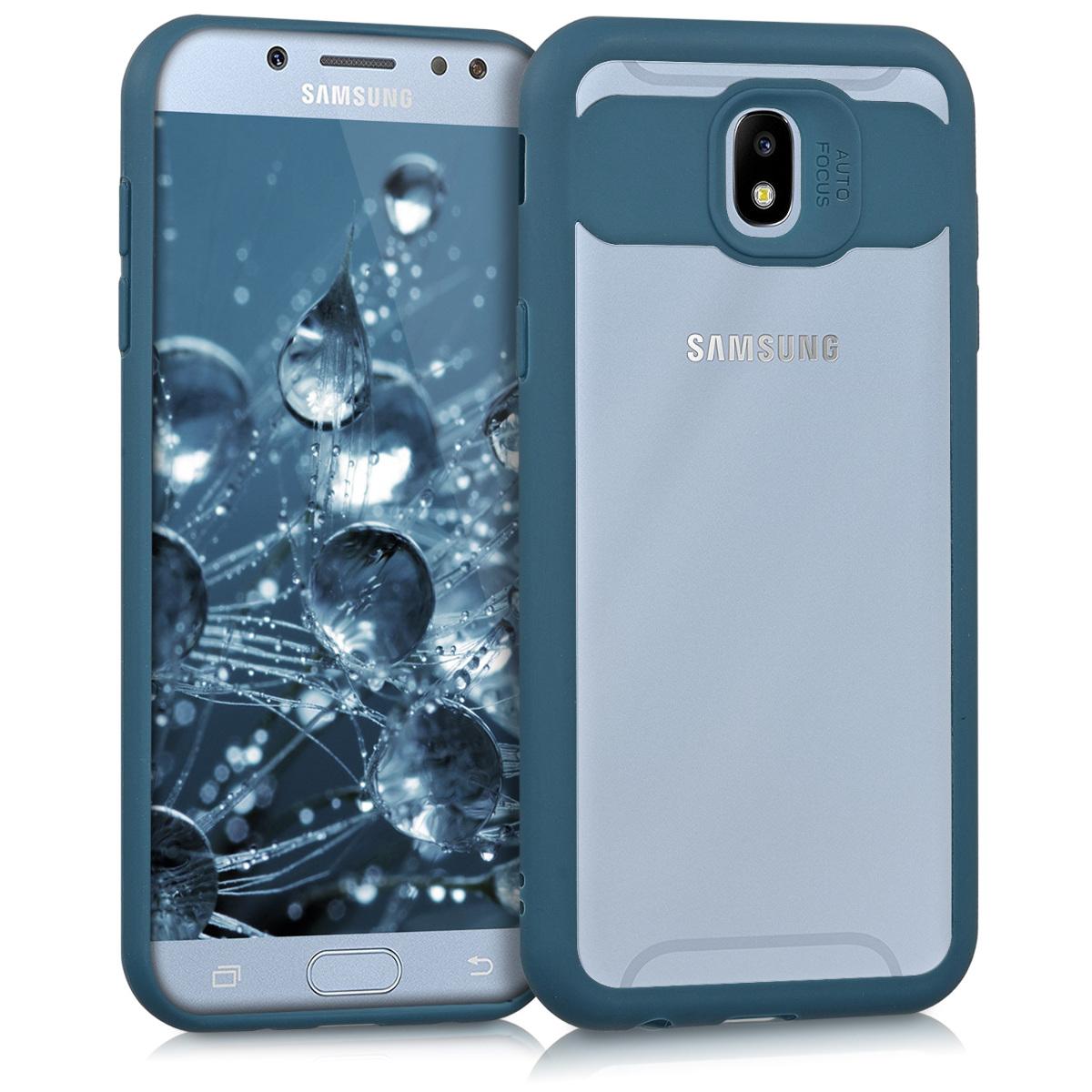 Kvalitní plastové pouzdro pro Samsung J5 (2017) DUOS - tmavě modré