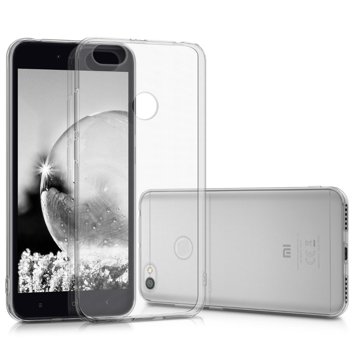 Kvalitní silikonové TPU pouzdro | obal pro Xiaomi Redmi Note 5A (4G) - Průhledný