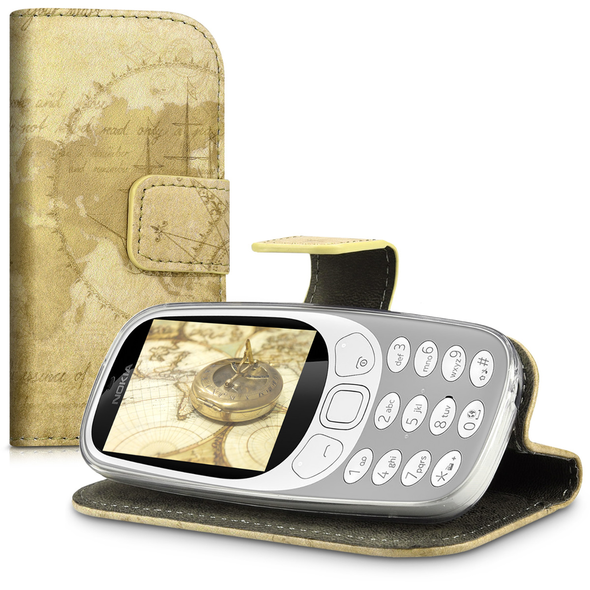 kwmobile-WALLET-SYNTHETIC-LEATHER-CASE-FOR-NOKIA-3310-2017-PURSE-STAND-COVER