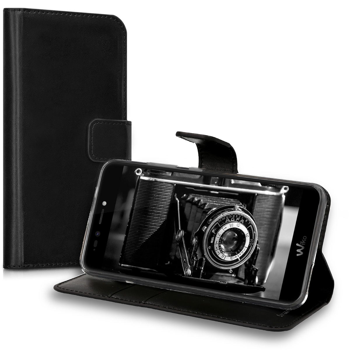 kwmobile-WALLET-SYNTHETIC-LEATHER-CASE-FOR-WIKO-UPULSE-LITE-COVER-BAG-MOBILE