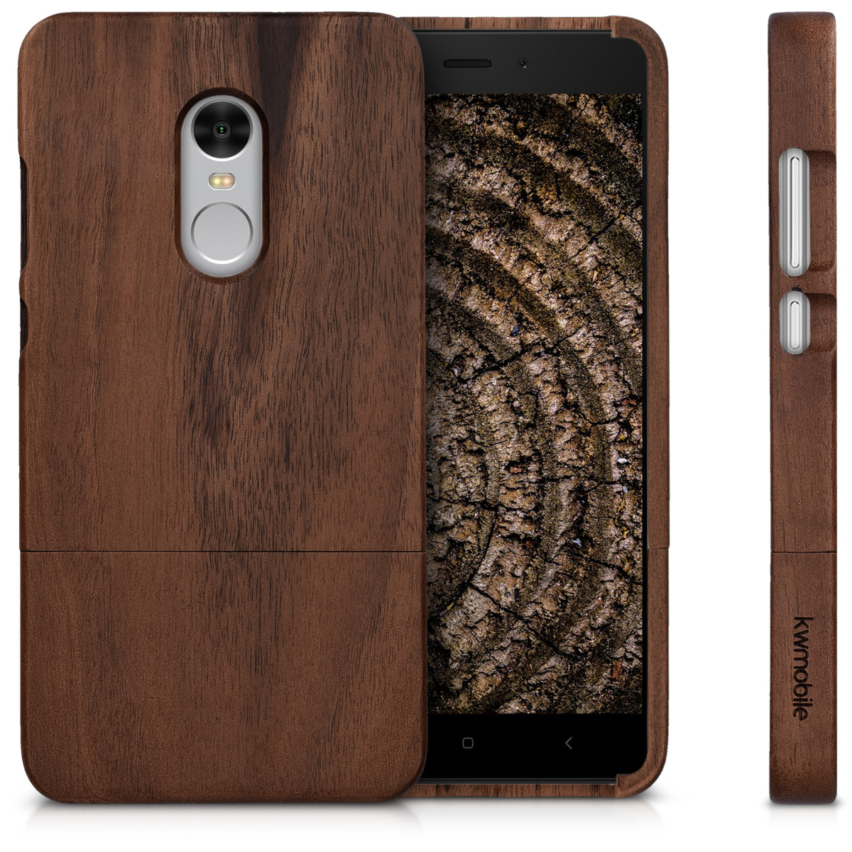 Hlle Fr Xiaomi Redmi Note 4 4x Holz Handy Case Cover Redminote 64 Gold Huelle Fuer