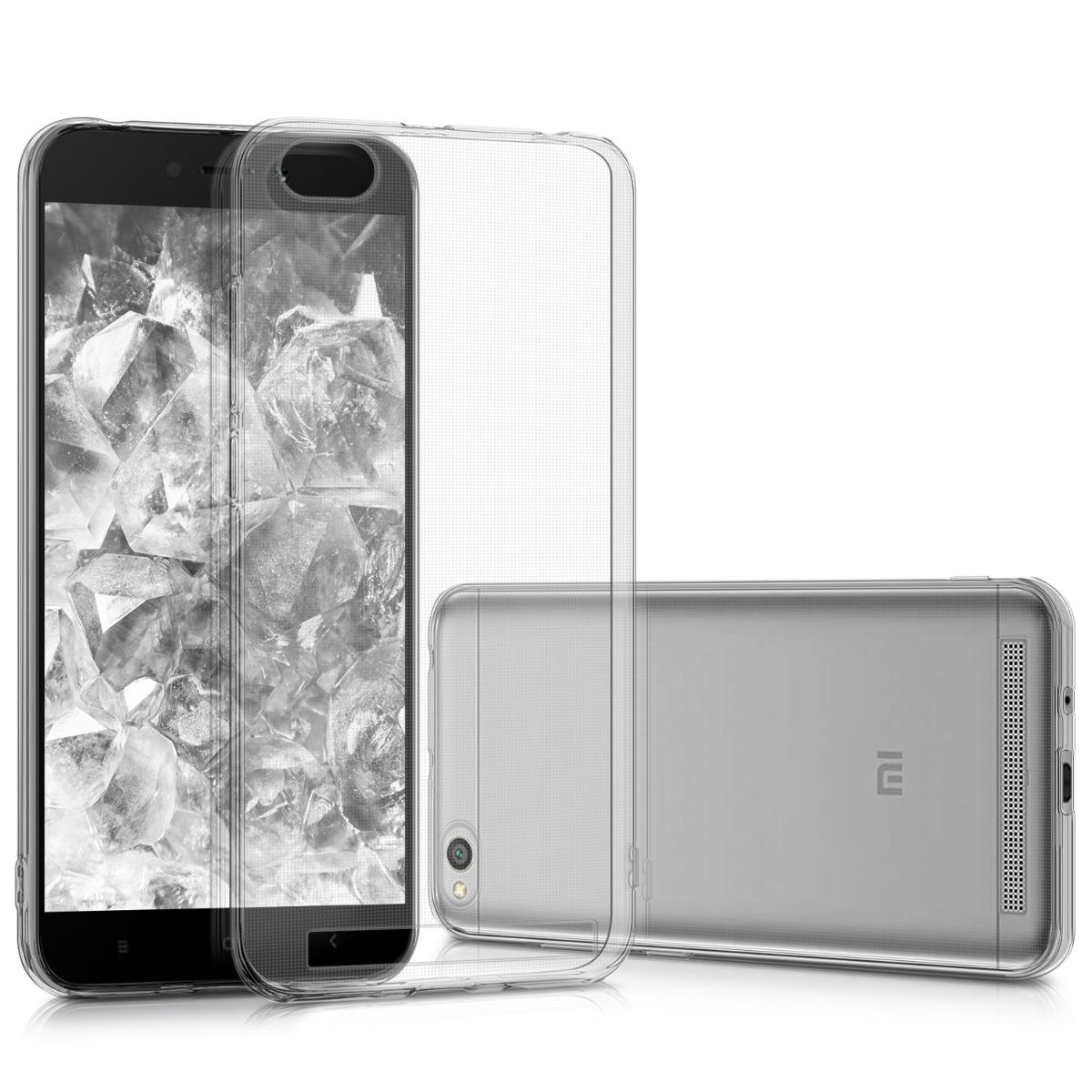 Kvalitní silikonové TPU pouzdro | obal pro Xiaomi Redmi 5A - Průhledný