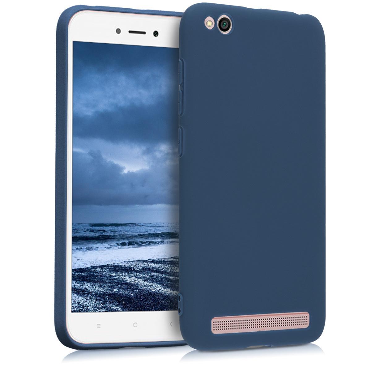 Kvalitní silikonové TPU pouzdro | obal pro Xiaomi Redmi 5A - Námořnická modrý