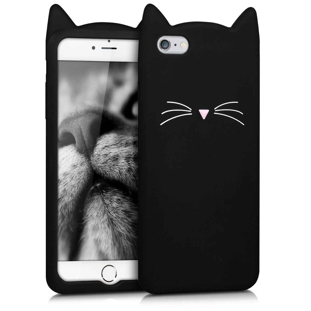 8b189ad36a9 kwmobile Design Silicone Case for Apple iPhone 6 Plus / 6S Plus - Soft  Silicone Gel Protective Cover with Cute Design. ‹ › ‹ › ‹ › ‹ ›