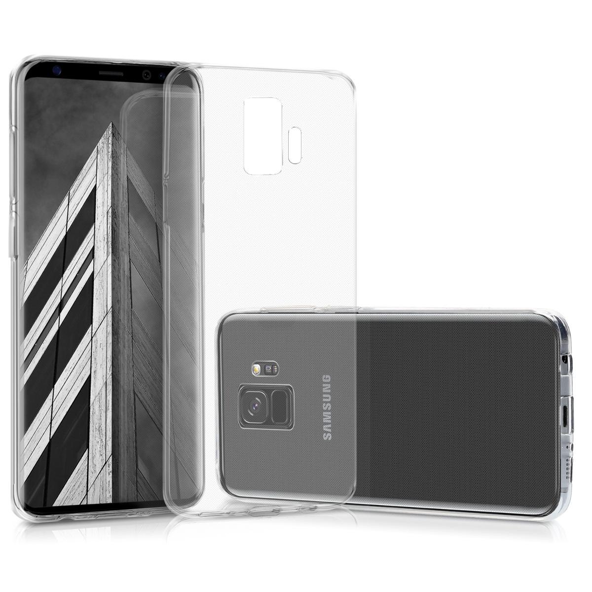 Kvalitní silikonové TPU pouzdro pro Samsung S9 - průhledné