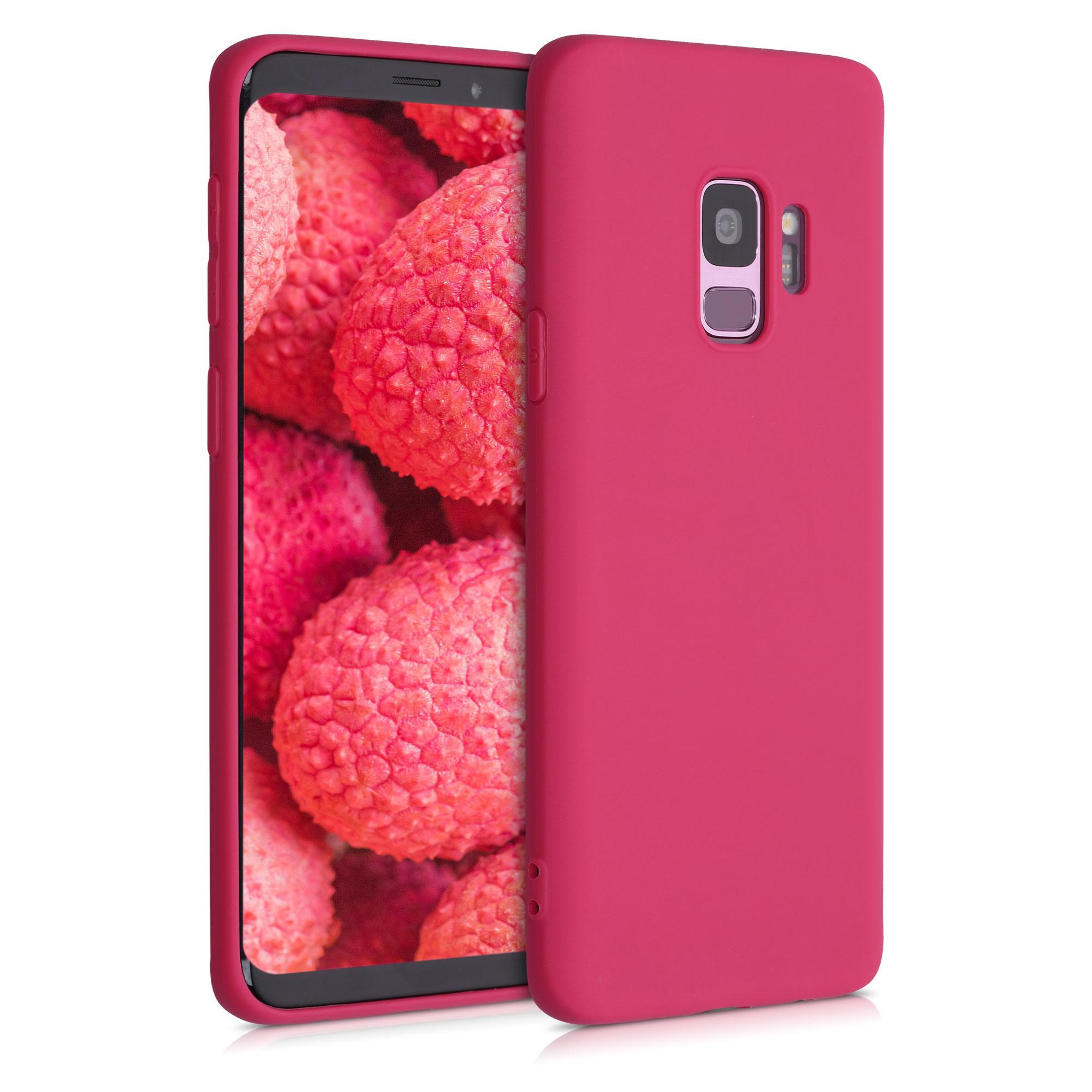 Kvalitní silikonové TPU pouzdro pro Samsung S9 - Pomegranate červené