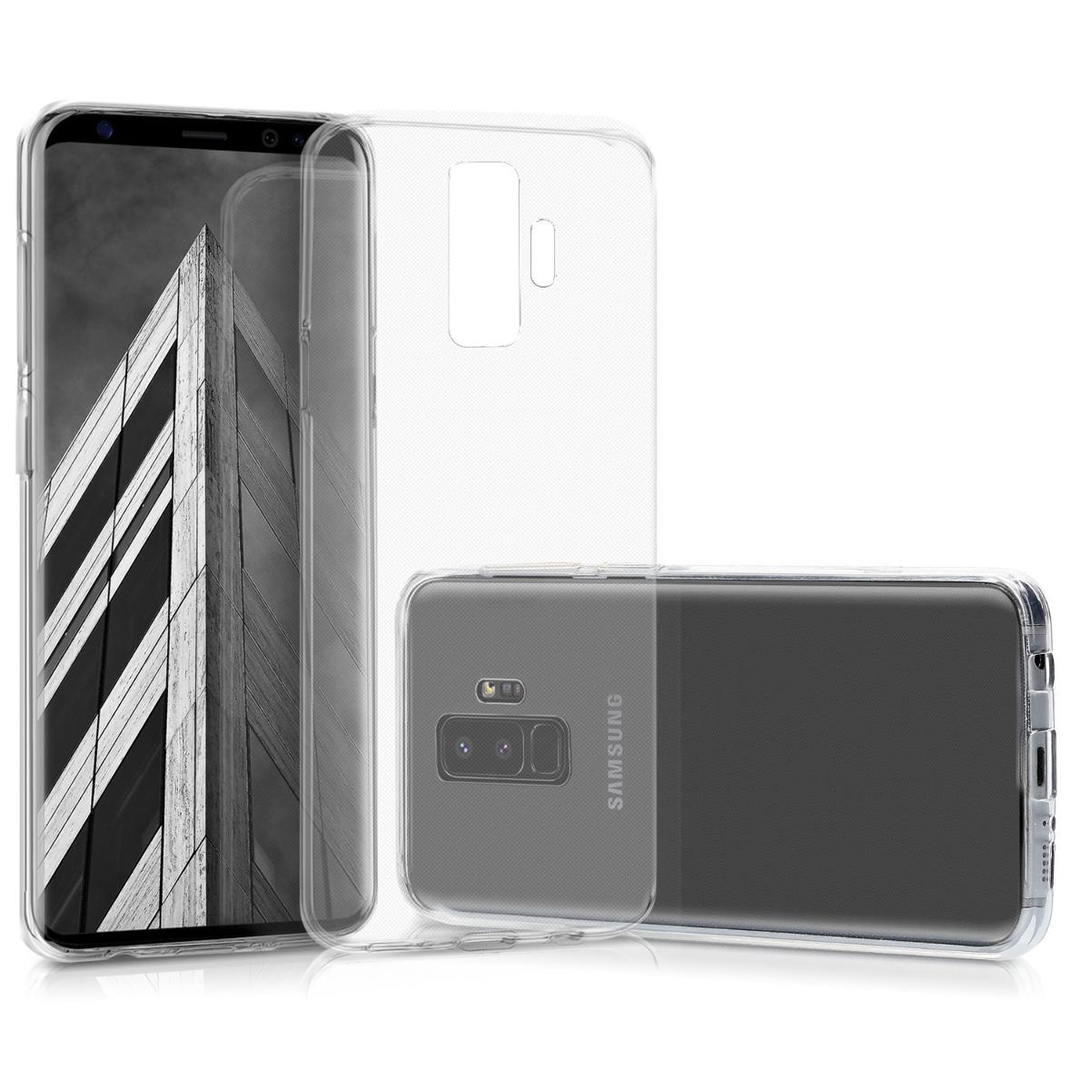 Kvalitní silikonové TPU pouzdro pro Samsung S9 Plus - průhledné