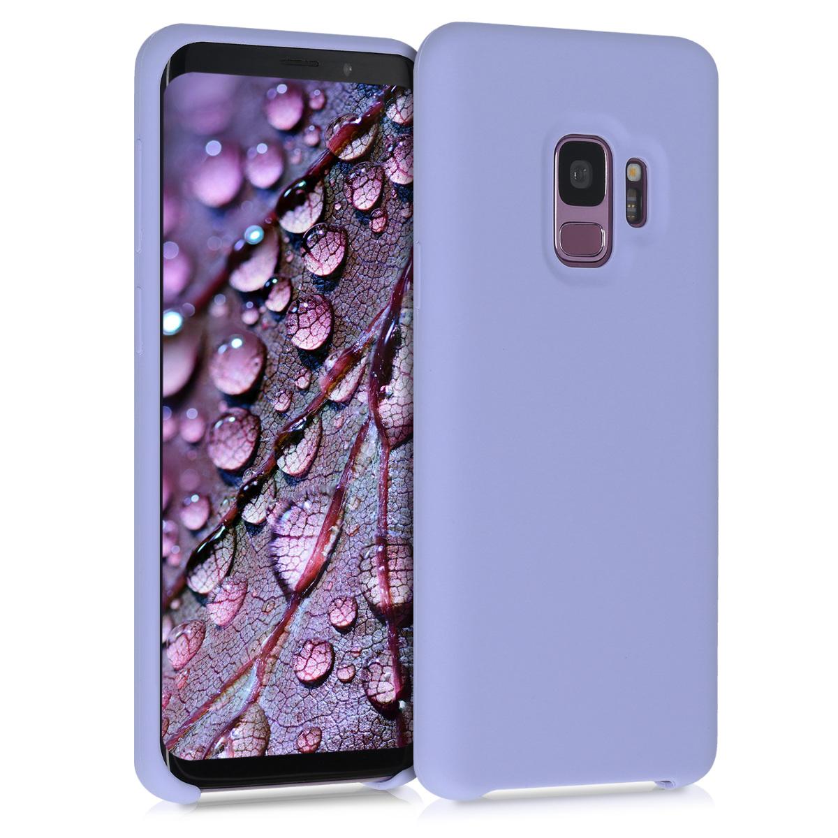 Kvalitní silikonové TPU pouzdro pro Samsung S9 - levandulové fialové