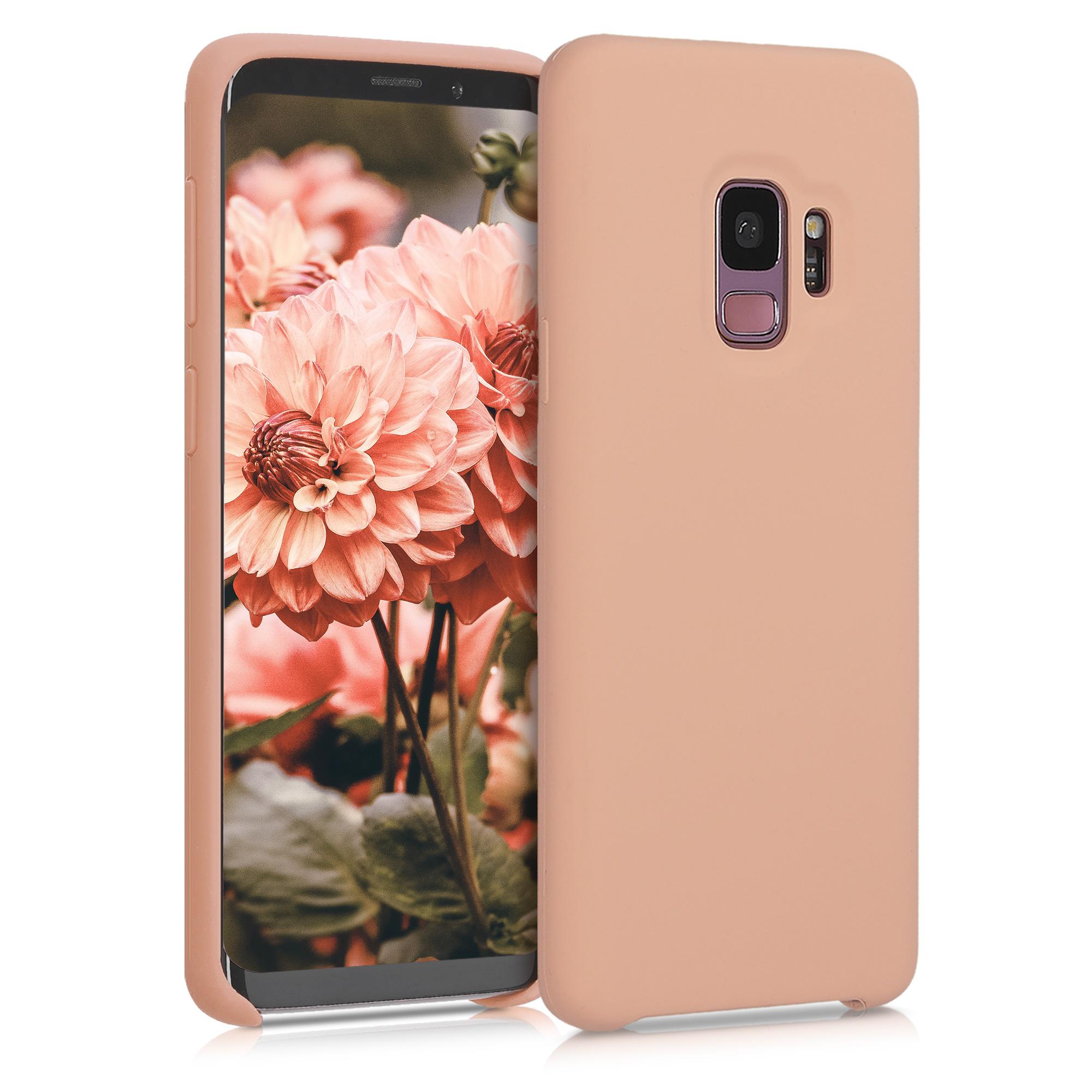 Kvalitní silikonové TPU pouzdro pro Samsung S9 - Broskev