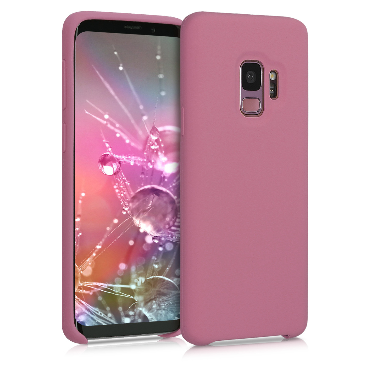 Kvalitní silikonové TPU pouzdro pro Samsung S9 - Hluboké Rusty Rose