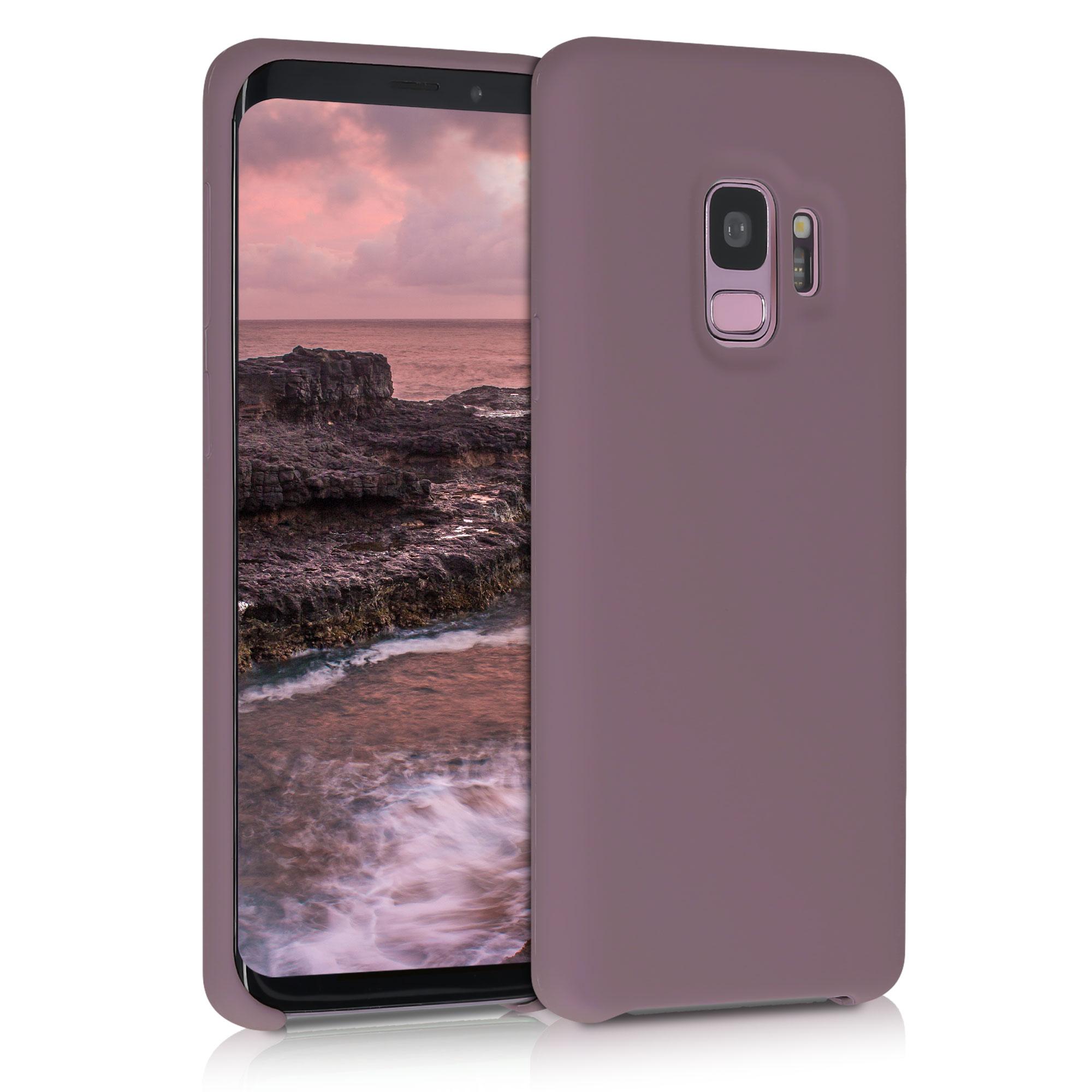 Kvalitní silikonové TPU pouzdro pro Samsung S9 - Grape Fialová