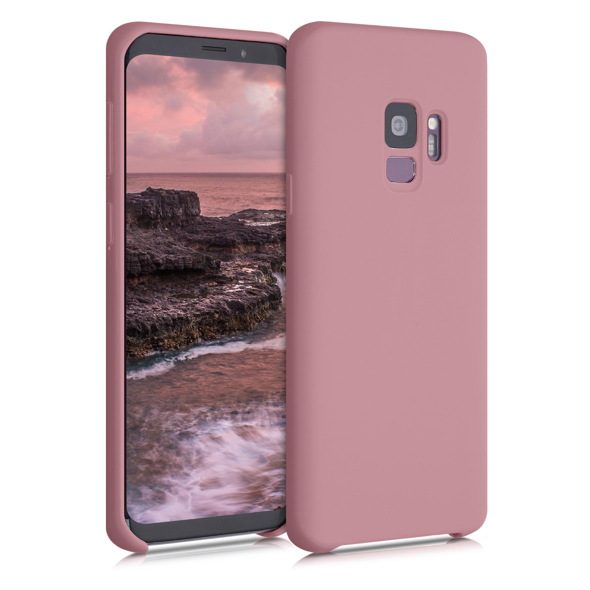 Kvalitní silikonové TPU pouzdro pro Samsung S9 - Rose Tan