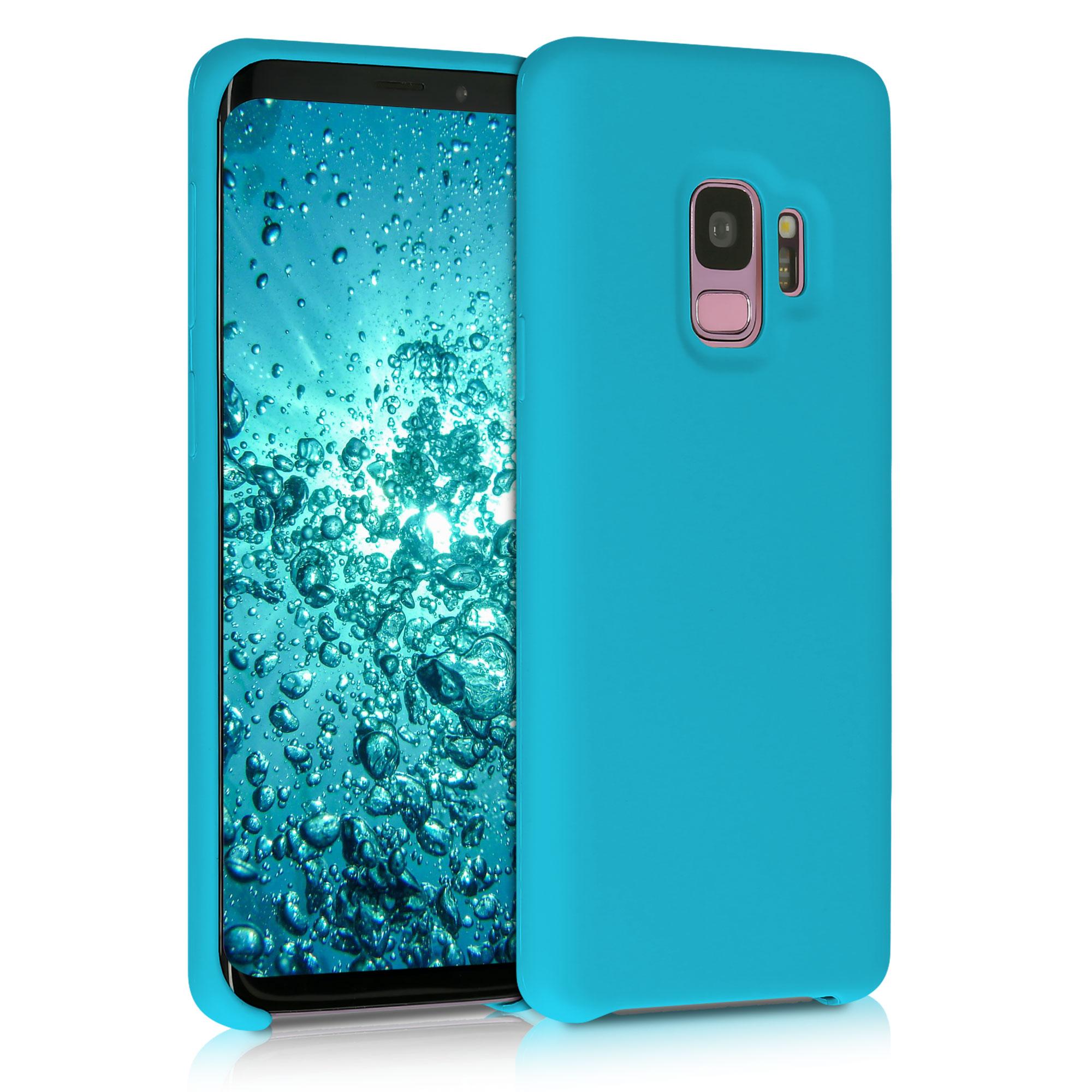 Kvalitní silikonové TPU pouzdro pro Samsung S9 - Ledová modř