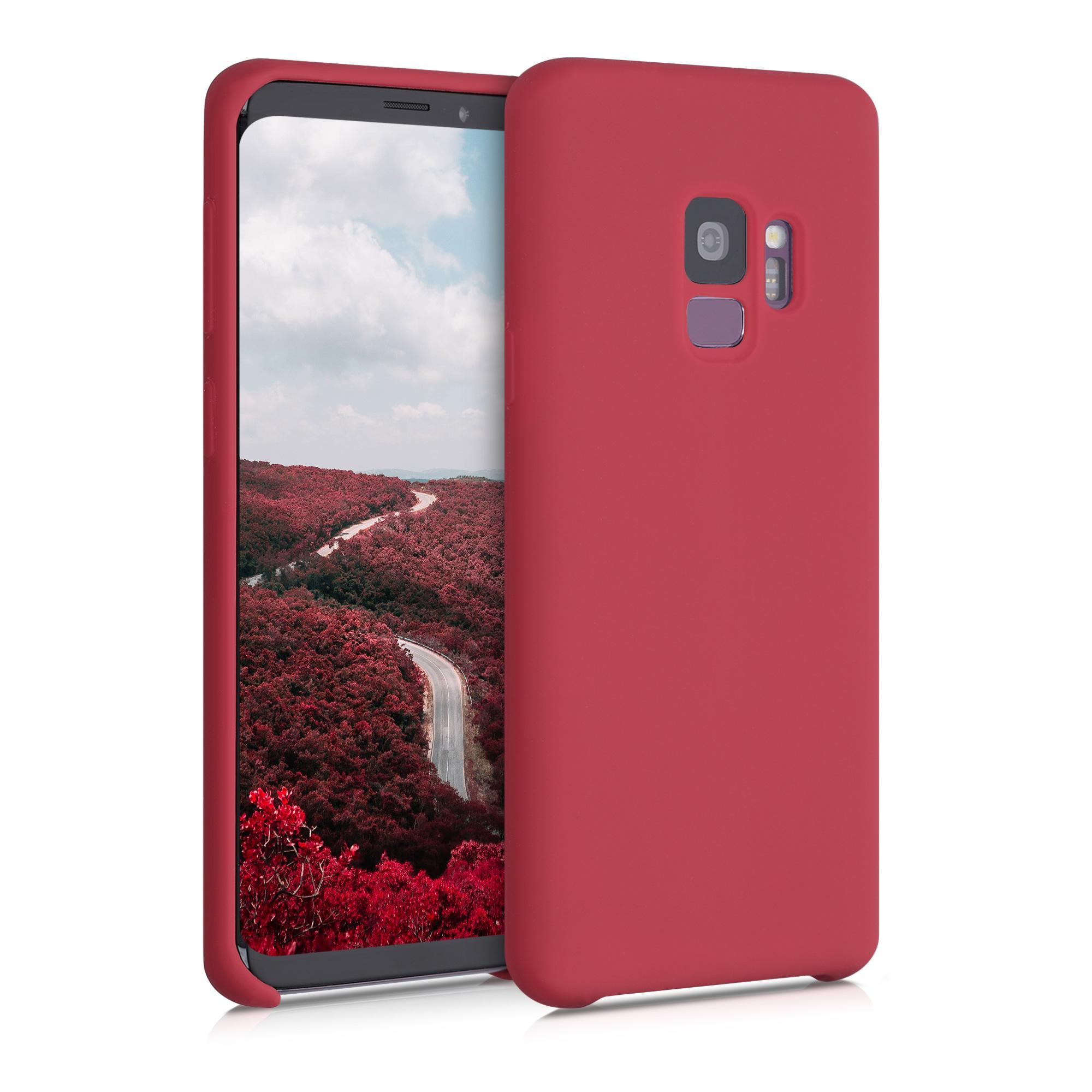 Kvalitní silikonové TPU pouzdro pro Samsung S9 - Rococo červené