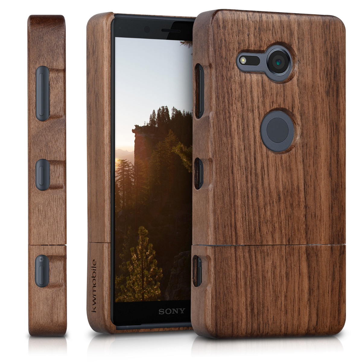 Dřevěné pouzdro | obal pro Sony Xperia XZ2 Compact -