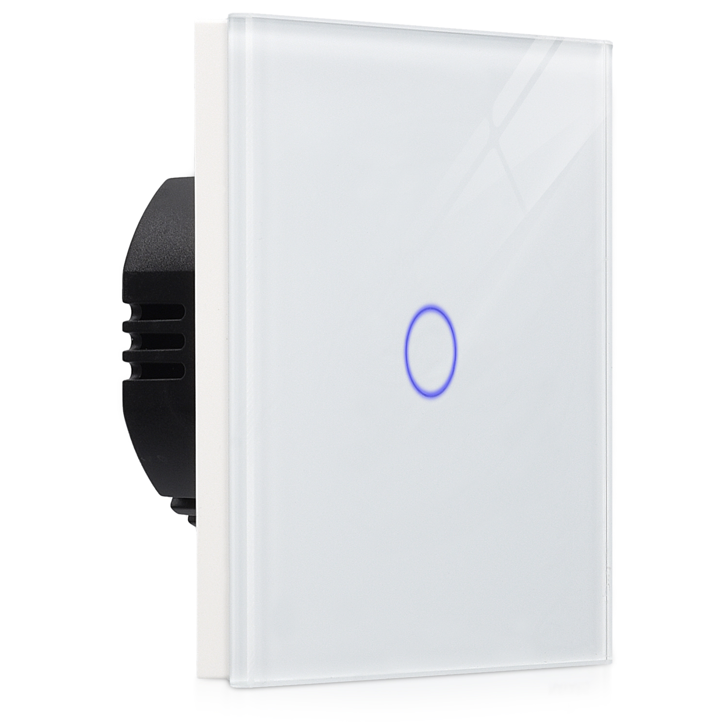 Glass Panel Touchscreen Wall Light Switch With Led Indicator 1