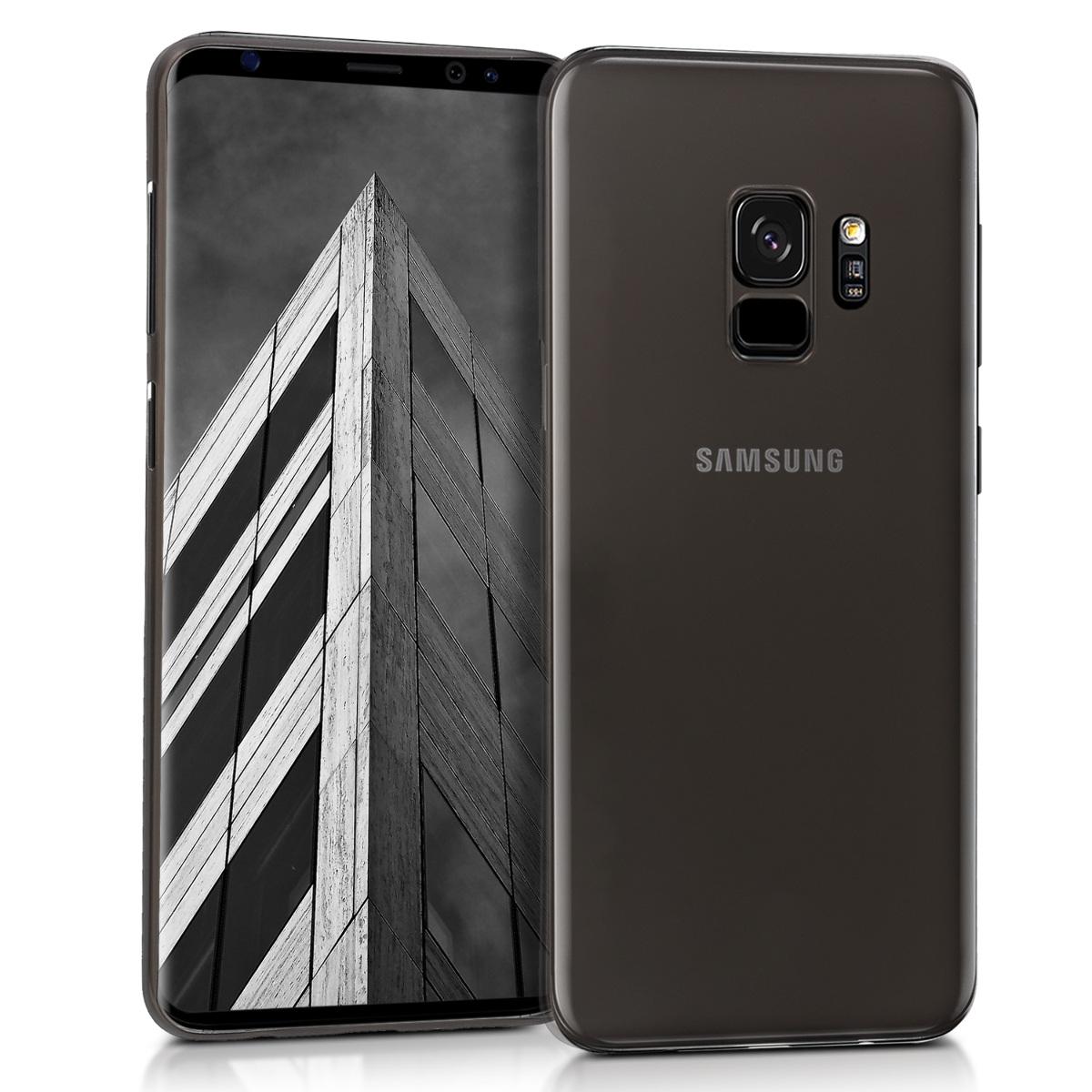 Kvalitní plastové pouzdro pro Samsung S9 - černé